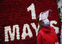 Virus preocupa trabajadores que piden derechos en 1 de mayo