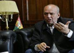 Ministro de Bolivia alerta que se gesta golpe de Estado