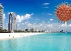 ¡Candela! La Florida informa 3,494 casos más de COVID-19 este domingo