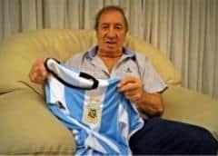 Extécnico de Argentina Carlos Bilardo tiene coronavirus