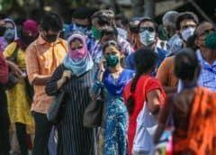 India suma casi 10.000 nuevos casos de coronavirus en un día
