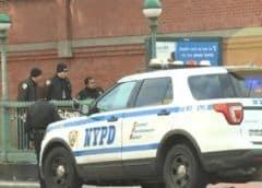 Dos policías heridos y otro apuñalado en Nueva York durante los saqueos