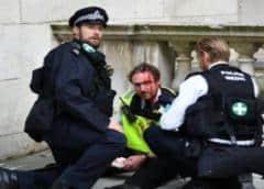 Veintidós policías británicos resultaron heridos al intentar parar una fiesta ilegal