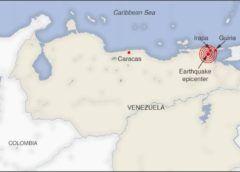 Fuerte temblor sacude a Caracas