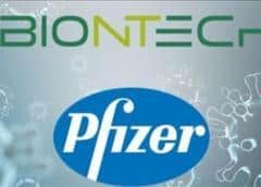 EEUU pacta con Pfizer compra de vacunas contra el COVID-19