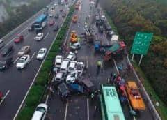 Choque de autobús en China fue causado por conductor furioso