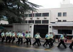 Fuertes medidas de seguridad en consulado de EEUU en Chengdu tras ordenar China su cierre