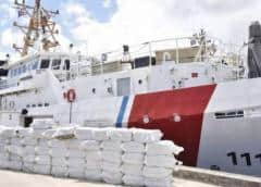 Guardia Costera de EEUU decomisa cargamento de cocaína en aguas del Mar Caribe