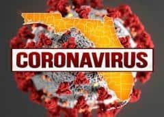 Florida registró un récord nacional de 15,300 nuevos contagios en un solo día.
