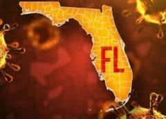 Florida registra 12,478 nuevos casos de COVID-19 y casi 5,000 muertos