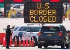 EE UU prorrogó las restricciones de viaje no esencial por tierra desde Canadá y México