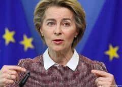 Von der Leyen pide sanciones por violaciones de derechos en Bielorrusia
