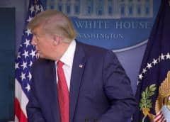 Disparos en la Casa Blanca; el presidente Trump es escoltado de la sesión informativa por el Servicio Secreto (Video)