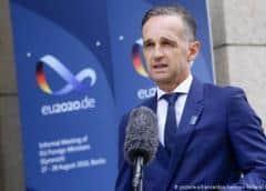 Maas pide una solución negociada a las tensiones entre Grecia y Turquía