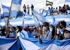 El Campo presente en el banderazo del #17A en contra del gobierno kirchnerista