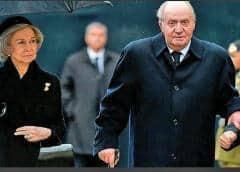 El rey emérito español, objeto de sospechas pero no causas judiciales