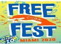 En Octubre llega a Miami el Free Cuba Fest
