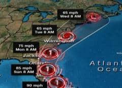 Gobernador DeSantis declaró estado de emergencia para condados costeros por el paso del huracán Isaías