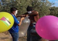 Israel detiene envío de combustible a Gaza tras globos explosivos lanzados por palestinos