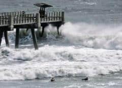 EEUU: Isaias provoca fuertes tormentas tierra adentro