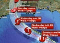 Laura se transforma en un intenso huracán categoría 3 con vientos de 115 mph