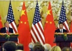 Trump dice que su buena relación con presidente chino ha cambiado