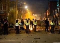 Siete muertos y ola de destrucción en protestas contra la Policía en Colombia