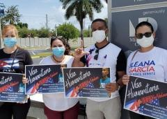 Cubanos en Miami piden visa humanitaria para el opositor Ramón Arboláez