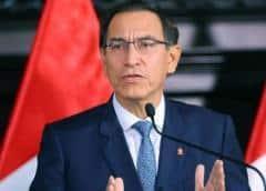 Congreso peruano define futuro de presidente Vizcarra con juicio político que busca destituirlo