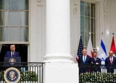 Histórico: Trump declara el 'un nuevo amanecer en Medio Oriente' mientras preside la firma de acuerdos de paz en la región