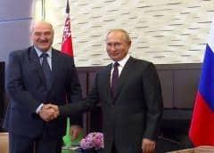 Líder bielorruso Lukashenko asegura que le pidió armas a Putin