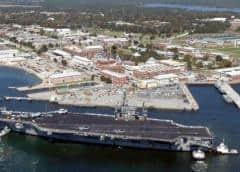 Cierran por amenaza de bomba base aérea de la Marina en Florida, sede de Blue Angels