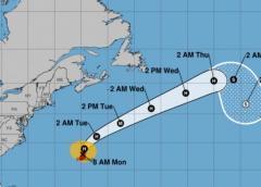 El huracán Paulette de categoría 2 llega a las Bermudas