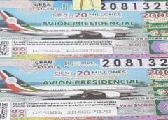 Presidente de México exhorta a compra final de boletos para rifa avión presidencial