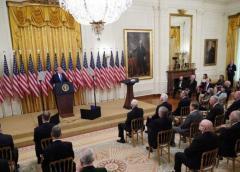 Brigadistas conmovidos por homenaje en la Casa Blanca