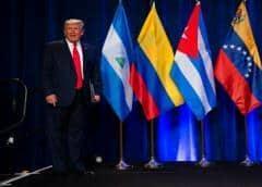 Trump se reúne con empresarios y líderes hispanos del sur de Florida
