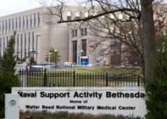 Trasladan al presidente Donald Trump al Centro Médico Militar Walter Reed