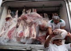 Las autoridades chinas advierten de la presencia de coronavirus en envases de carne de cerdo importados de Brasil