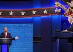 Trump y Biden protagonizan un debate sobrio pese a las duras acusaciones