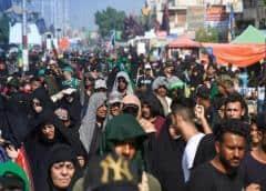 A pesar del coronavirus, Irak permite la entrada a miles peregrinos extranjeros