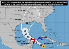 Delta gana intensidad y se convertirá en un extremadamente peligroso huracán de categoría 3