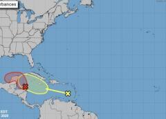 Sistema en el Mar Caribe podría convertirse en perturbación ciclónica Gamma