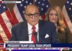Esto se calienta: Giuliani asegura que podrían surgir más demandas en Arizona y Nuevo México