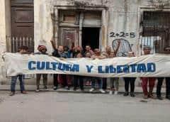 URGENTE: policía política de Cuba asalta sede del Movimiento San Isidro y secuestra a los activistas
