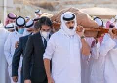 Despiden con un funeral al primer ministro de Baréin muerto en Estados Unidos