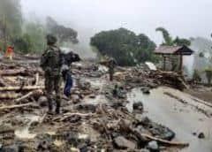 Al menos 3 muertos y 12 desaparecidos por avalanchas en el noroeste de Colombia