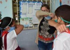 Las escuelas de La Habana reabren tras siete meses de cierre por covid-19