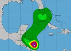Cuba y Florida en la trayectoria de Eta