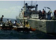 Hacinados, sin agua y en condiciones insalubres viajaron 14 cubanos rescatados por la Armada Mexicana