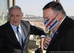 Pompeo visita asentamiento israelí en Cisjordania